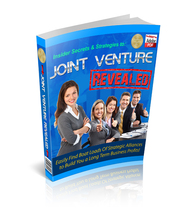 Joint Venture Revealed - ebook - $0.69