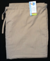 Khaki Scrubs - XL Scrub Pants - New Khaki Scrub Bottoms With A Back Pocket - $10.99