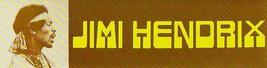 Jimi Hendrix Bumper Sticker 1985 Vintage - $8.97