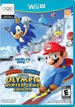 Mario & Sonic at the Sochi 2014 Olympic Winter Games - Nintendo Wii U - $98.46