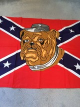 Bull Dog on the Civil War or Rebel 3 x 5 ft Flags w/free shipping - $25.00