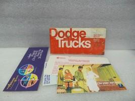 Dodge Pickup Truck 1975 Owners Manual Set 16406 - $18.76