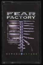 Fear Factory Demanufacture Unofficial Russian tape audio cassette   - $15.00