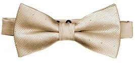 Flairs New York Little Gentleman's Kids Bow Tie Rose Gold [Glitter Dots] - $9.22