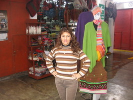 Sweater made of alpacawool, natural colors  - $82.00