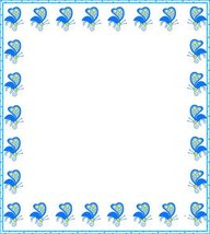 NEW Blue Insects Letterhead Stationery Paper 26 Sheets - $9.89