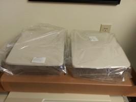 Longaberger Large Potluck 2 piece Plastic Protector Set W Lids New Storage - $22.72