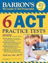 Six Act Practice Tests Book English (Paperback) - $12.97