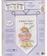 A Mother's Work is Never Done Cross Stitch Kit ... - $15.99