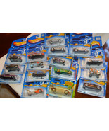 Lot of 16 Hot Wheels Cars Hot Rods Custom Cars ... - $43.61