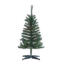 Gerson Company 4' Cumberland Pine Multi-Color Incandescent Lights Christ... - $46.99