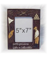 VINTAGE-INSPIRED SEPIA-TONED GOLF PICTURE PHOTO FRAME - $9.95