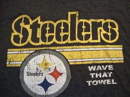 NFL Pittsburgh Steelers Sportswear Fan Apparel Thin Cotton T Shirt Size XL - $15.53