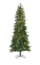 Gerson Company 6.5' Natural Cut Salem Spruce Pre-Lit Christmas Tree w/Po... - $235.99
