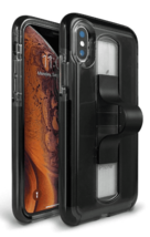 BodyGuardz Apple iPhone XS Max SlideVue Case - Smoke Black NEW image 3
