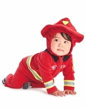 NEW NWT Boys Carter's Halloween Firefighter Costume 12 or 18 Months 2 Piece - €17,75 EUR