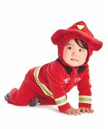NEW NWT Boys Carter's Halloween Firefighter Costume 12 or 18 Months 2 Piece - £15.19 GBP