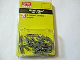 Micro-Trains Micro-Track #99040909 Rail Joiners Two Dozen Z-Scale image 3