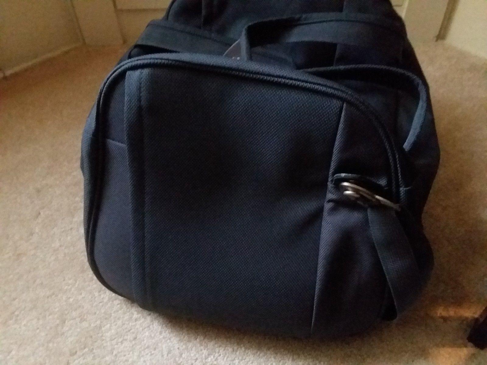 Samsonite Gray Yellow Travel Case Duffel Luggage image 3
