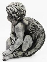 Sitting Angel Concrete Statue  - $69.00