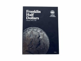 Franklin Half Dollar, 1948-1963 Coin Folder/Album by Whitman - $6.49