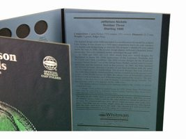 Jefferson Nickel No. 3, 1996-2002 Coin Folder/Album by Whitman - $6.49