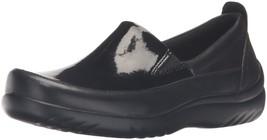 Klogs USA Women's Ashbury Boat Shoe, Black Pate... - $114.95