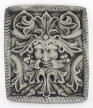 Green Man Concrete Wall Plaque  - $65.00