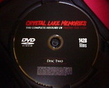 """Crystal Lake Memories: Complete History of """"Friday the 13th"""" (DVD) DISC 1& 2 Set"""