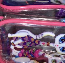 Lisa Frank Roxie Rollie Rare Both White Fur! Mini Backpack Earlier R+R Design image 7