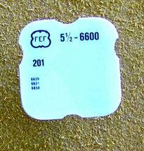 FEF (Fleurier) 5 1/2 L cal 6600  part #201 Driving Wheel Watch Part - $14.99