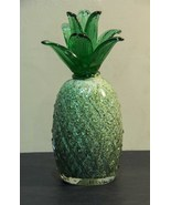 Glass Pineapple - Paperweight, Collectible, Art... - $38.00