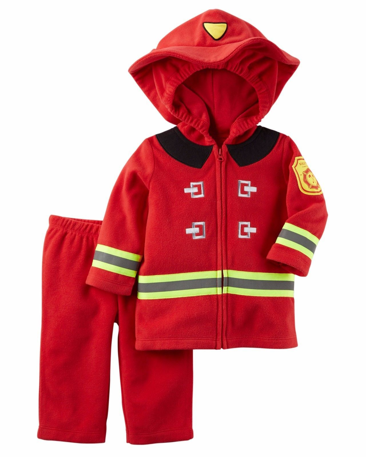 NEW NWT Boys Carter's Halloween Firefighter Costume 12 or 18 Months 2 Piece