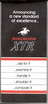 Winchester XTR brochure for rifles vintage sporting hunting vintage collectible