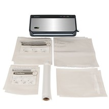 FoodSaver FM2435ECR Vacuum Sealing System with Bonus Handheld Sealer and - £99.48 GBP