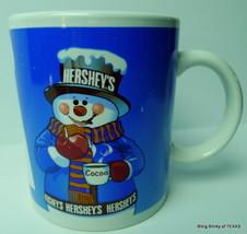 Hershey's Cocoa Smores Snowman Recipe Mug - $6.90