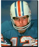 Bob Griese Miami Dolphins Great QB -16 x 20 Photo Wrapped Stretched Canvas - $94.95