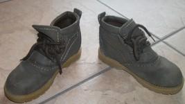boys  toddler hiking walking boots 8.5 brown cherokee brand  - £15.72 GBP