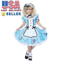 California Costume Deluxe Alice In Wonderland Girl Child Halloween Cospl... - $25.40+