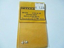 Details West # BV-245 Brake Vent Regulator Valve 2 Each  HO-Scale image 3