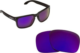 New SEEK Replacement Lenses Oakley HOLBROOK - Polarized Purple - $20.02
