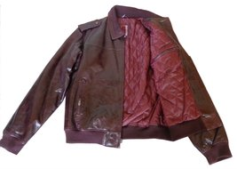 Knoles & Carter Men's Classic Urban Leather Bomber Jacket Clearance Sale... - $128.65