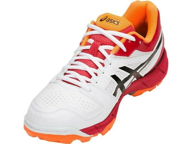 Asics Cricket Shoes Gel Peake 5 For Men  Size  UK 9  White/Black