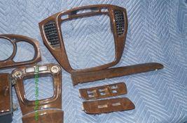 01-07 Toyota Highlander Woodgrain Dash Trim Kit Vents Console 8pc image 11