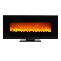 """50"""" Wall Mount Fireplace Standing Electric Adjustable Heater w/Tempered ... - $530.99"""