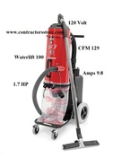 Ermator S13 Single-Phase HEPA Dust Extractor Vacuum 120V - $1,329.00