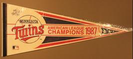 1987 Minnesota Twins AL Champions Batterman 30x12 Pennant - $7.99
