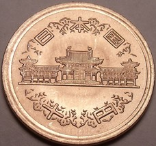 Gem Unc Japan Year 1974~Year 49~10 Yen~Hirohito Showa Ruler~See R Coins~... - $4.35