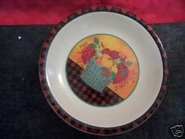 HALLMARK CARDS FRUIT BASKET SALAD PLATES SET OF 4 Lovely - $15.79