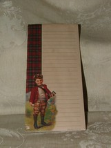Vintage 1990s Golfer Golf Boy Notepad Shopping List 50 sheets NEW UNUSED - $4.00